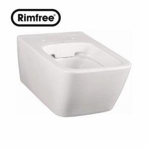 Висяща тоалетна чиния LIFE Rimfree