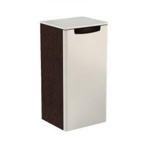 Шкаф колона ниска REKORD – предлага се в два цвята