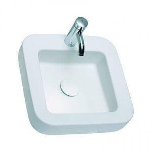 Квадратна мивка върху плот COCKTAIL