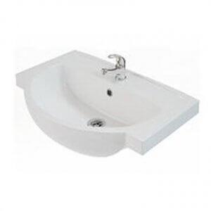 Мивка за баня с отвор за батерия FREJA