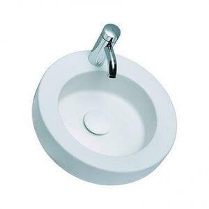 Кръгла мивка върху плот COCKTAIL