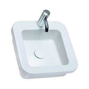 Квадратна мивка за вграждане COCKTAIL