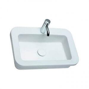 Правоъгълна мивка за вграждане COCKTAIL