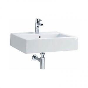 Правоъгълна мивка за баня с правоъгълно корито TWINS