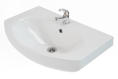 Мивка за баня с отвор за батерия RUNA
