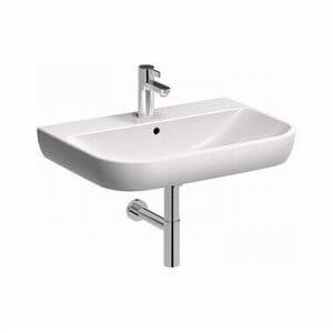 Овална мивка за баня с отвор за батерия TRAFFIC