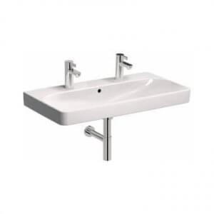 Двойна мивка за баня с едно корито и два отвора за батерия TRAFFIC