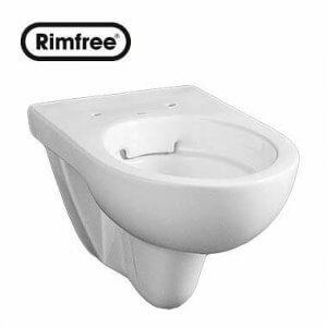 Висяща тоалетна чиния NOVA PRO Rimfree