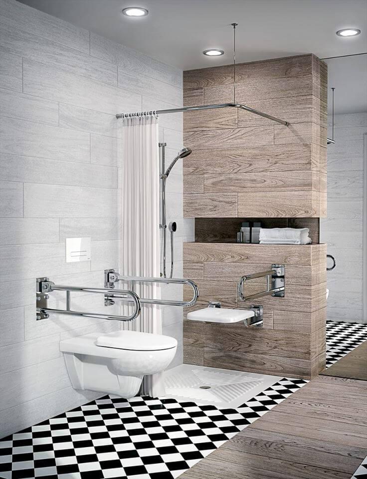 M33500NOVAPROBEZ BARIER висяща тоалетна чиния за инвалиди и хора в неравностойно положение