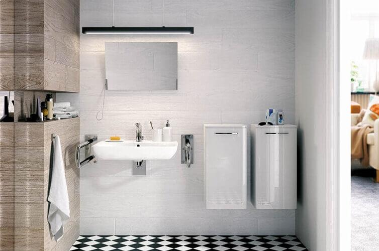 M38165NovaPRoBezBarier мивка за хора в неражностойно положение, инвалиди и възрастни
