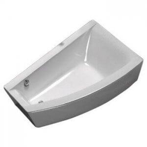 Асиметрична вана CLARISSA – лява