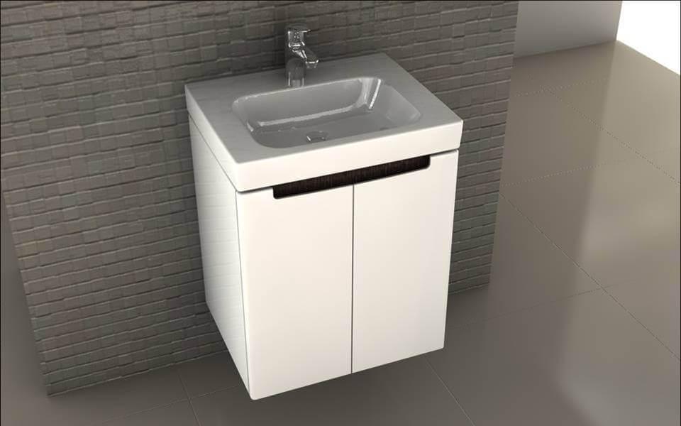modo шкаф с мивка за баня