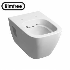 Висяща тоалетна MODO Rimfree