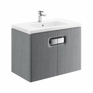Шкаф с вратички и мивка TWINS – предлага се в три цвята