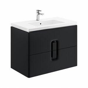 Шкаф с две чекмеджета и мивка TWINS – предлага се в три цвята