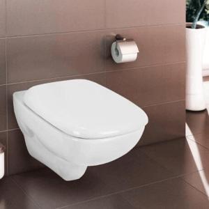 Висяща тоалетна чиния STYLE  с капак плавно затваряне