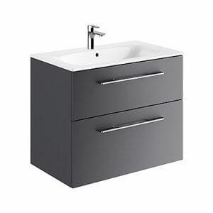Шкаф с две чекмеджета и мивка SLIM Nova Pro Premium, 100см
