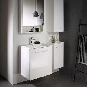 Шкаф с вратичка и мивка SLIM Nova Pro Premium, 55см