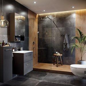 Шкаф с огледало за баня Nova Pro Premium – 60cм.