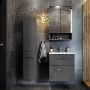 Шкаф с две чекмеджета и мивка SLIM Nova Pro Premium, 60см