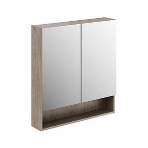 Шкаф с огледало за баня Nova Pro Premium – 80cм.